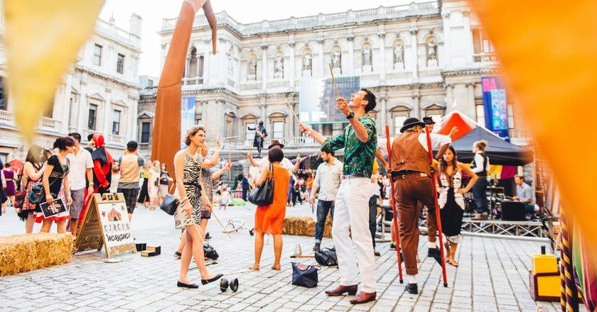 The Summer Circus | © Justine Trickett/Courtesy of Royal Academy of Arts