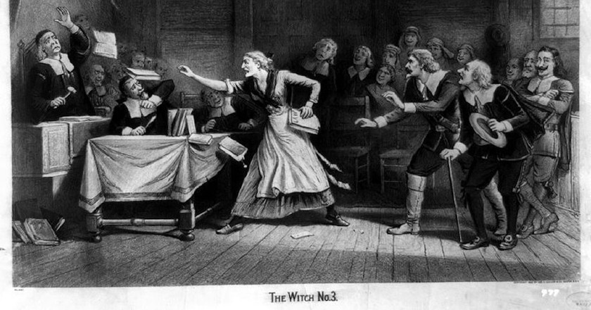 """The Witch, No. 3,"" circa 1892 Feb. 29   © Baker, Joseph E., ca. 1837-1914, artist./WikiCommons"