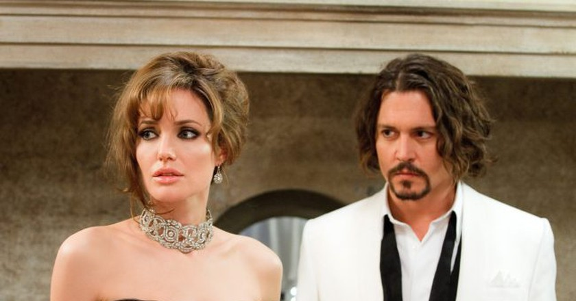 Angelina Jolie and Johnny Depp in 'The Tourist' | © Studiocanal