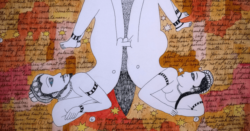 "Dorothy Iannone, ""The Darling Duck,"" 1983/84 | © Iwan Gabovitch/Flickr"