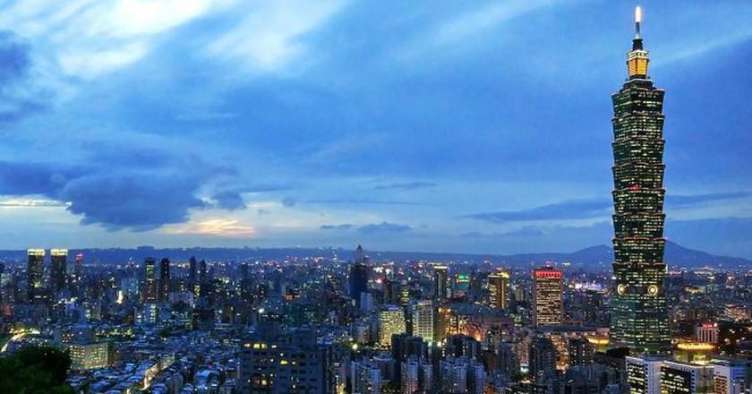 View of Taipei from Elephant Mountain | © Любарский Сергей Николаевич / Wikimedia