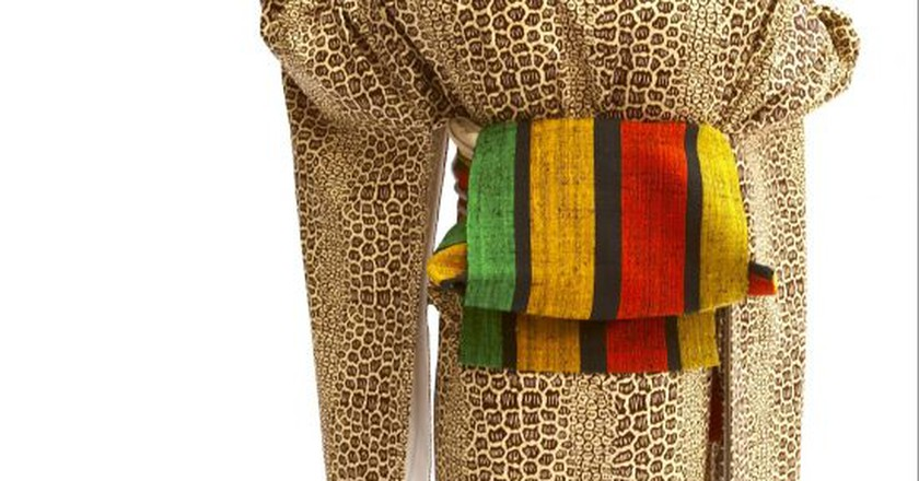 Wafrica: Japanese and West African cultures intersect to form wearable art | © Serge Mouangue