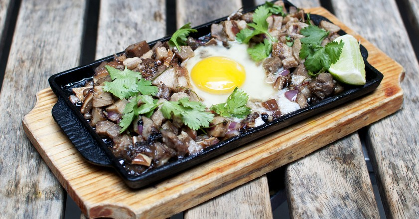 Sizzling Sisig | Courtesy of Pig and Khao