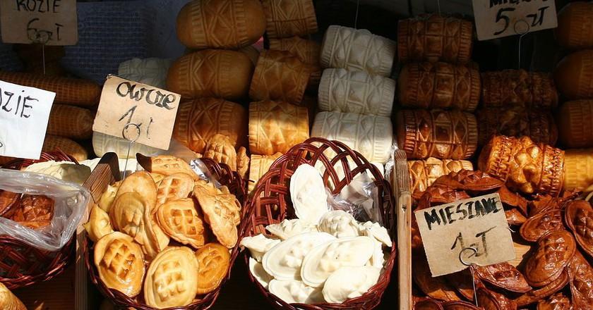Traditional Polish cheeses |© Aga Viburno