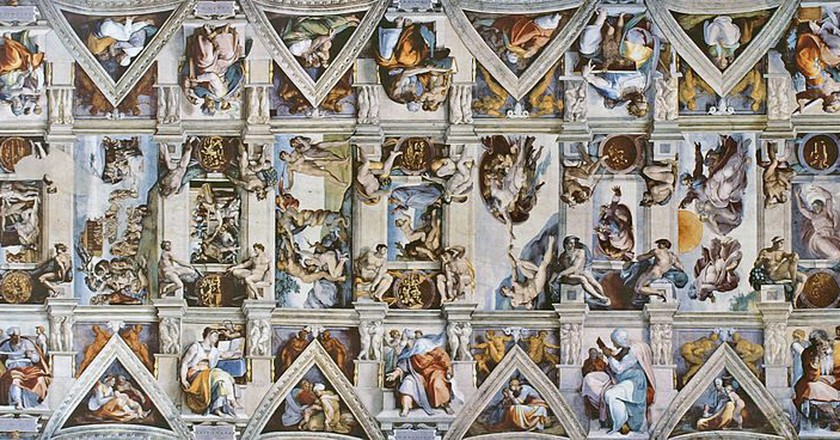 Sistine Chapel ceiling | © Qypchak/WikiCommons