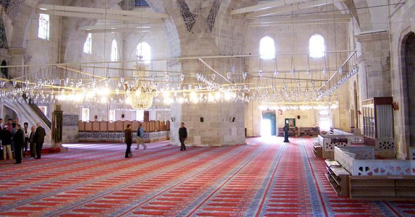 Üç Şerefeli Mosque    © Darwinek/Wikimedia Commons