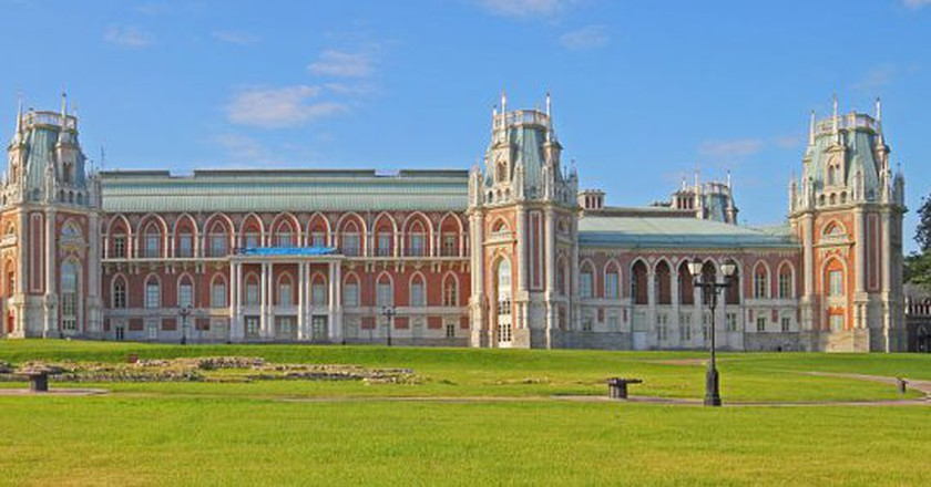 Moscow, Russia. Tsaritsyno Museum Reserve. Grand Palace.| © A.Savin/ Wikimedia Commons