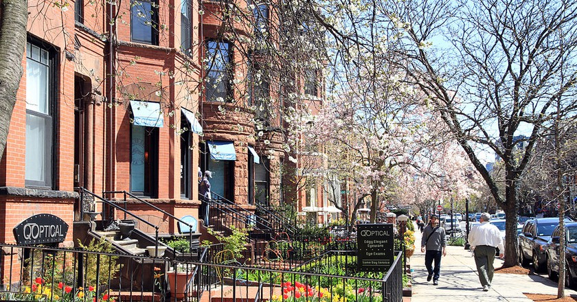 Boston Newbury Street |  © Ingfbruno / WikiCommons