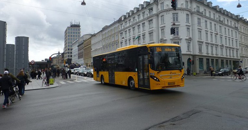 Copenhagen Bus | © Leif Jørgensen/Wikimedia Commons