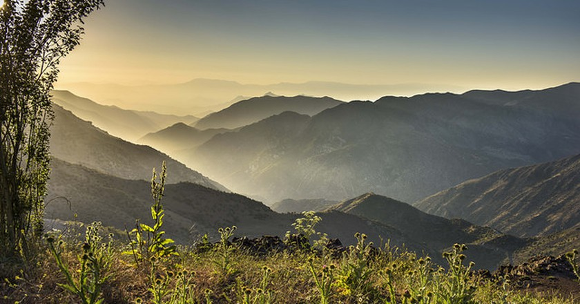Sunset in Chile's Mountains © Max Besser Jirkal / flickr
