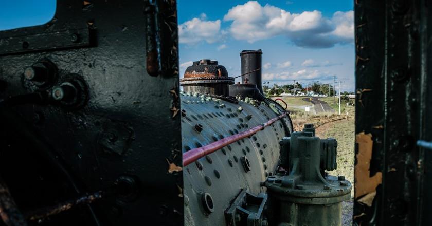 Steam train | © darkday/ Flickr