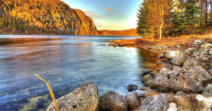 Helgeland sunset © Nils Tamlag / Flickr