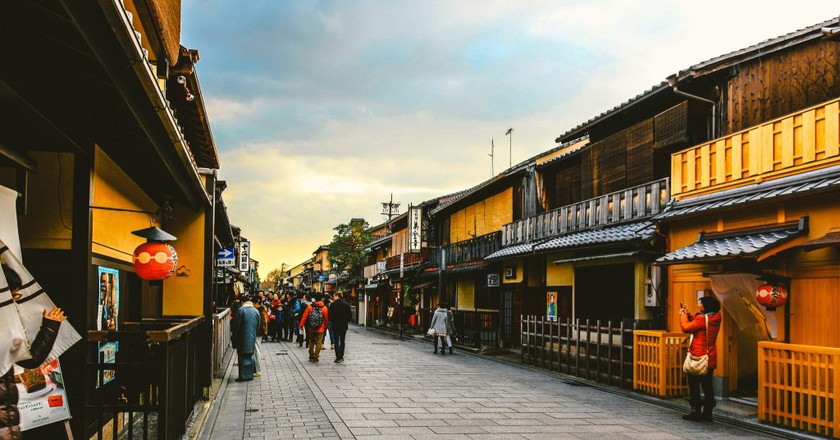 Hanamikoji Street in the Gion District | © hans-johnson / Flickr