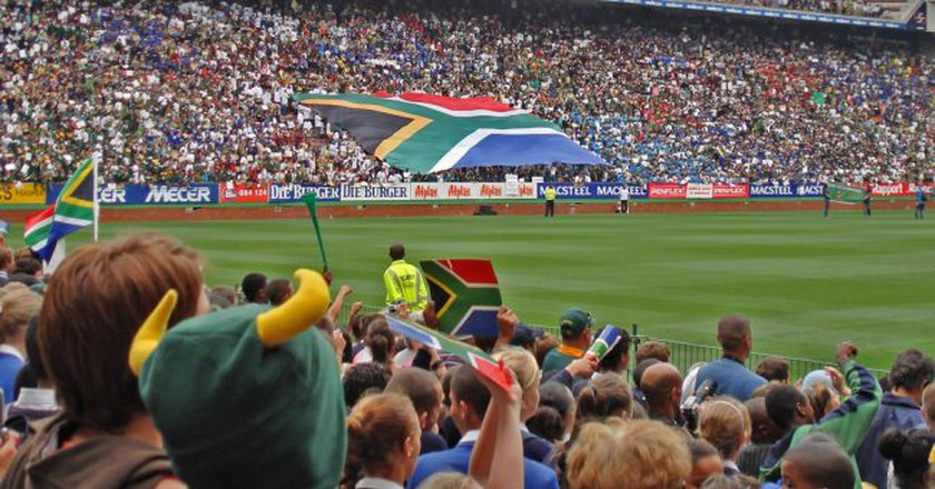 Newlands Rugby Stadium, Cape Town   © Warren Rohner / Flickr.com