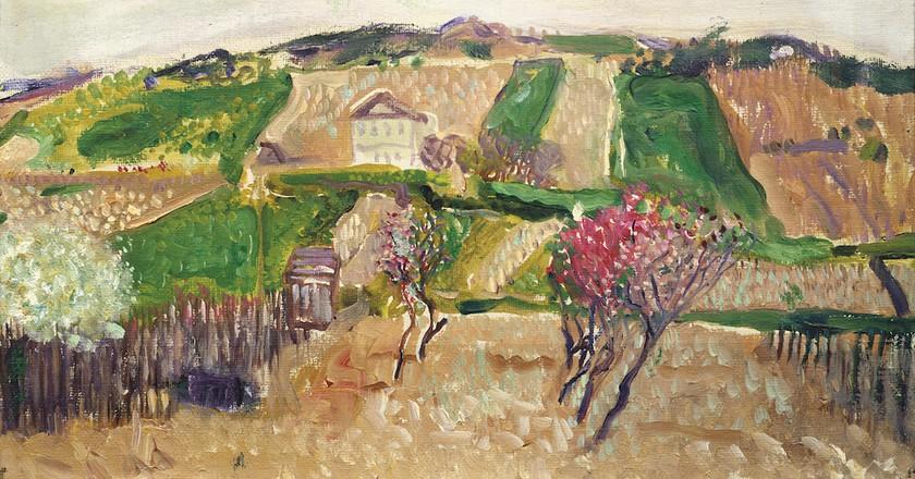 Richard Gerstl, Grinzing, spring 1906 | Private Collection, Courtesy Galerie St. Etienne, New York