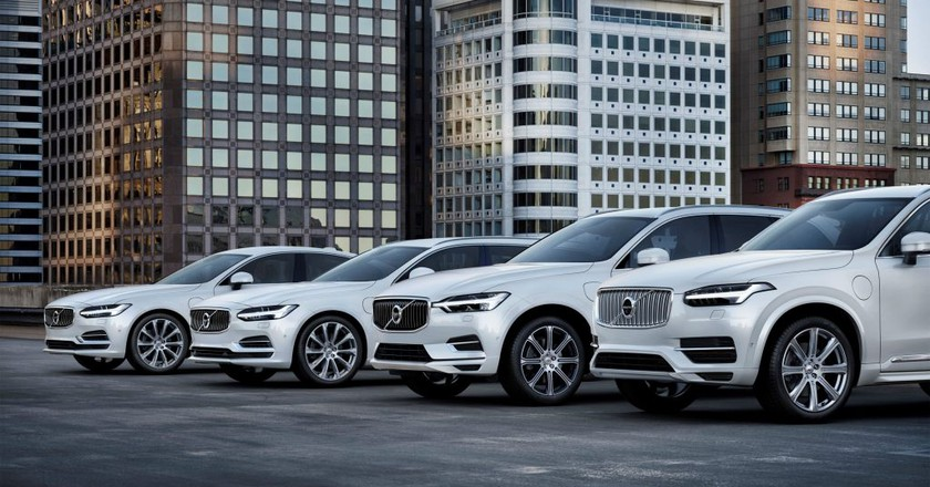 Volvo's T8 Twin Engine Range | Courtesy Volvo