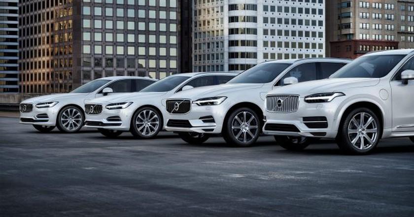 Volvo's T8 Twin Engine Range | Courtesy Volvo