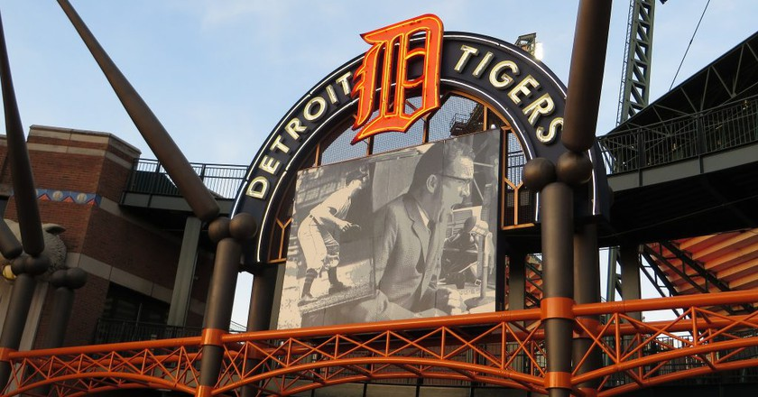 Comerica Park, home of the Detroit Tigers   © Ken Lund/Flickr