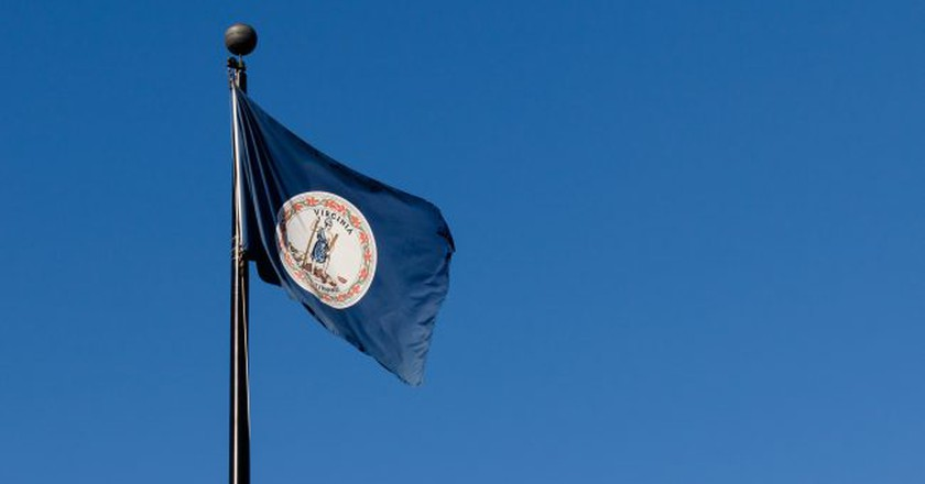 Virginia State Flag | © MBandman/Flickr