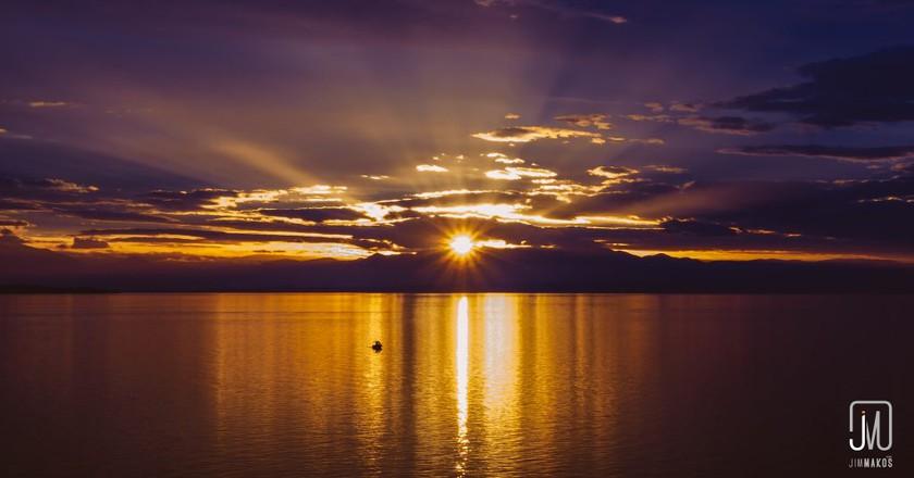 Sunset over Thessaloniki   © Jim Makos/Flickr