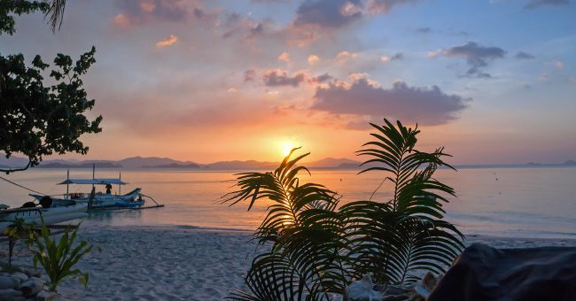 Port Barton Sunset | © Dan Merino / Flickr