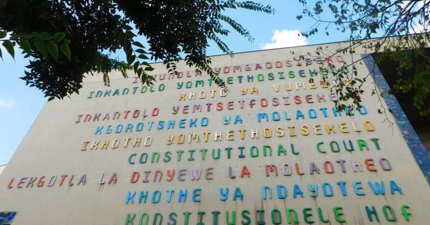 All official languages represented outside South Africa's Constitutional Court   © Adamina/Flickr