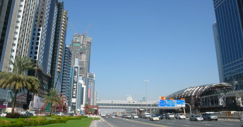 Sheikh Zayed Road | © Christopher/Flickr