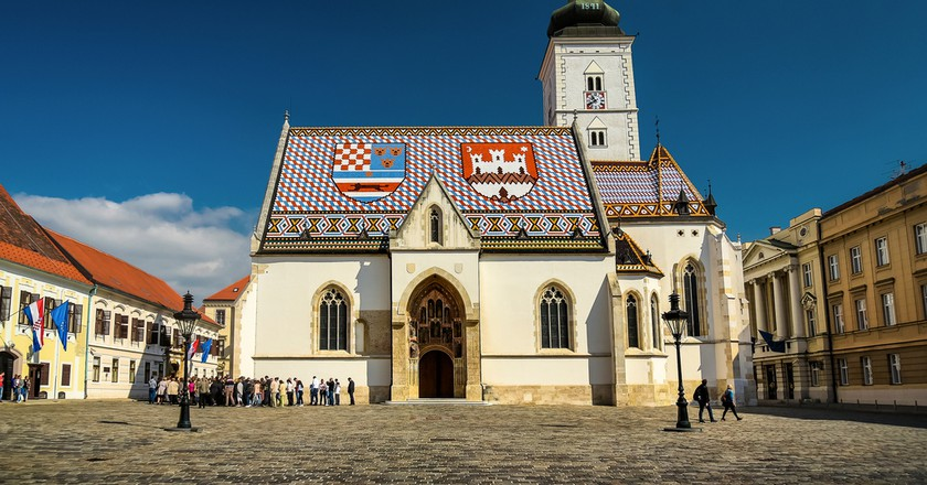 St Mark's, Zagreb | © Jorge Franganillo/Flickr