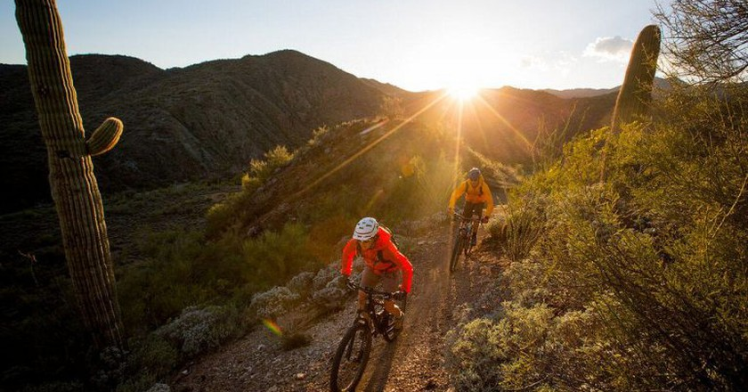 Mountain biking   © Bureau of Land Management/Flickr