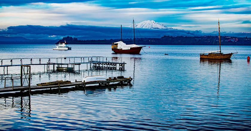 Boats on Lake Llanquihue I © Guillermo Valin/Flickr
