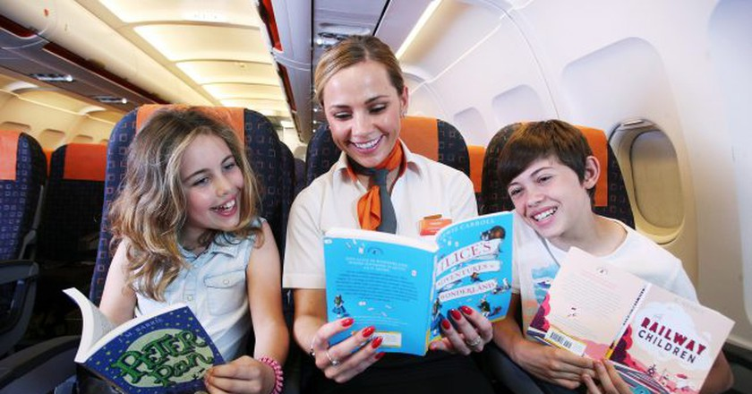 easyJet has launched an in-flight library   © PinPep/TaylorHerring/Shutterstock