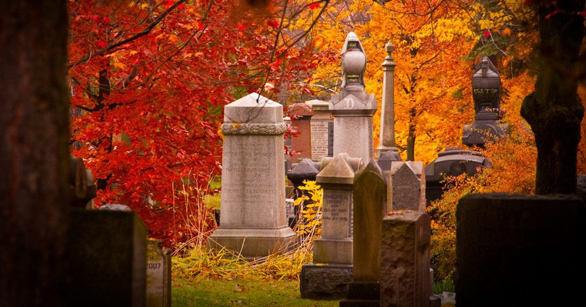 Fall in Mount Pleasant Cemetery | © Colin Knowles / Flickr