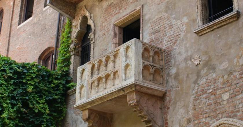 Juliet's balcony in Verona   spencer77