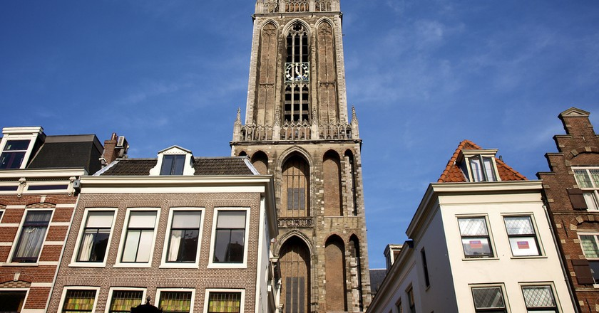 Utrecht's iconic Dom Tower   © E. Dronkert / Flickr