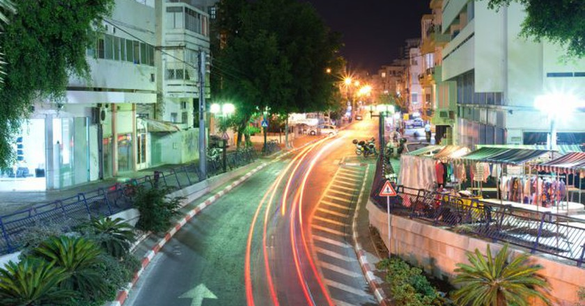 Nighttime in Tel Aviv. © Mikhail Kryshen/Flickr