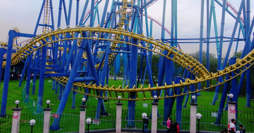 The Batman Ride, Six Flags, Mexico City | © cezzie901/Flickr