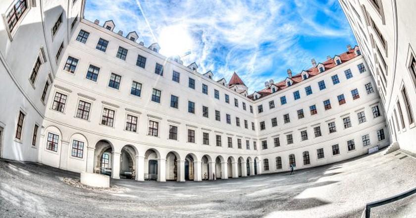Bratislava Castle's interior courtyard is often overlooked I © KurtBauschardt/Flickr
