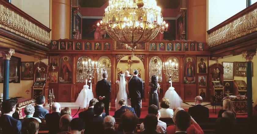 A Greek wedding ceremony | © Milkbar Nick/Flickr