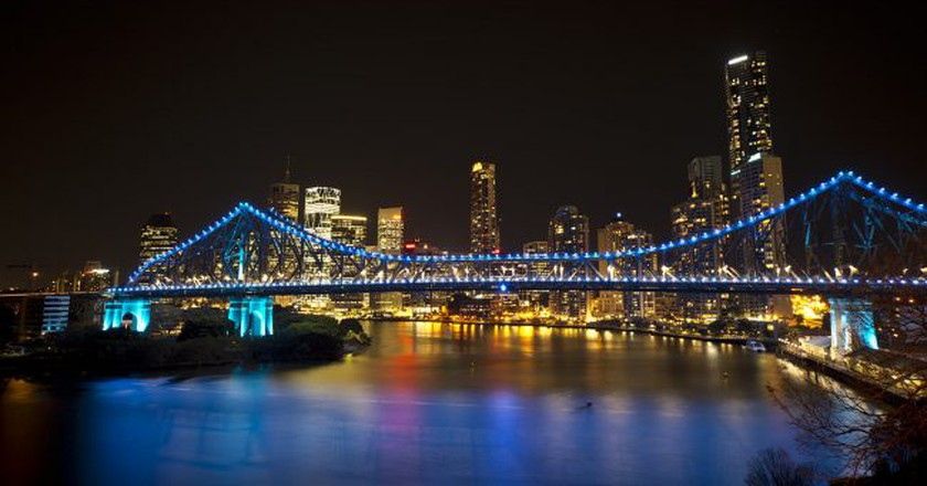 Brisbane City at Night | Steve Collis / Flickr