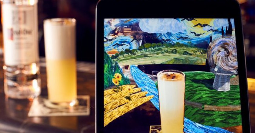Augmented-Reality Cocktails Have Launched in London