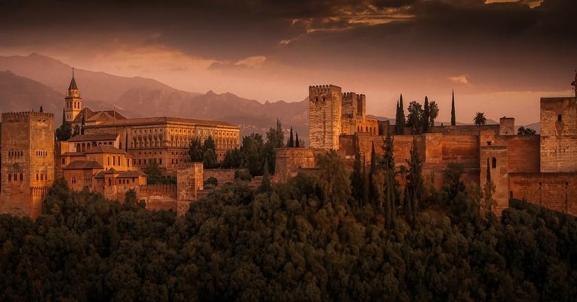 The Alhambra, Granada    © Walkerssk/Pixabay
