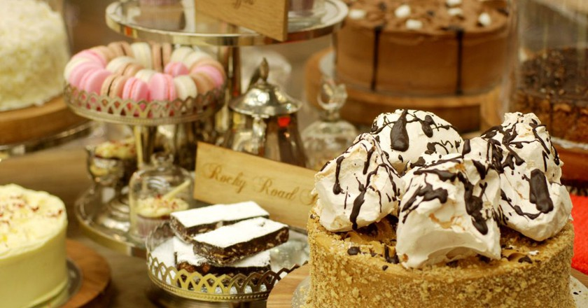Walnut Grove in Sandton City serves a variety of freshly baked goods, ideal for a snack after a shopping spree |Courtesy of Walnut Grove