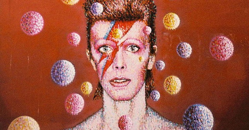 Bowie mural | © Wikimedia/Peter Coxhead