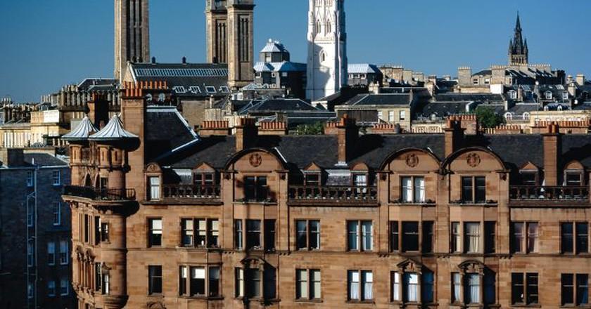 Glasgow City Skyline   Courtesy Of Glasgow Life