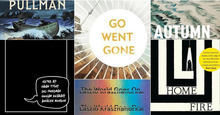 Covers | Courtesy of Portobello Books, Harvill Secker, W. W. Norton and Company, David Fickling Books, Bloomsbury, and Zed Books