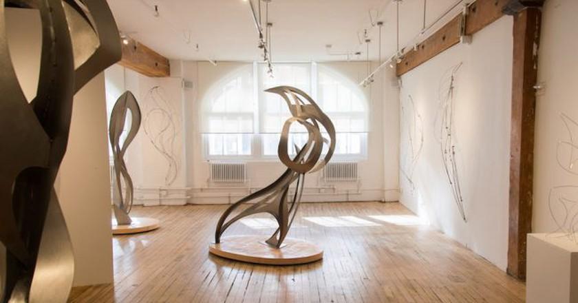 East Gallery, Installation 1, October 2016 | Courtesy of Carter Burden Gallery
