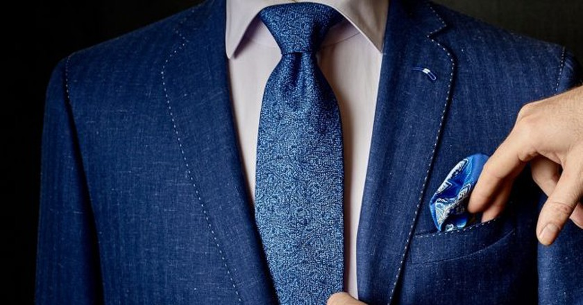 Exquisite suit at L'Atelier Hoche │ Courtesy of L'Atelier Hoche