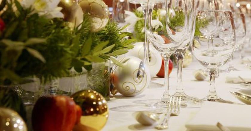 Festive buffet | Courtesy of Le Méridien Ibom Hotel & Golf Resort