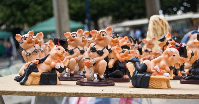 Ghent flea markets really do have a little bit of everything | © Denis Defreyne / Flickr