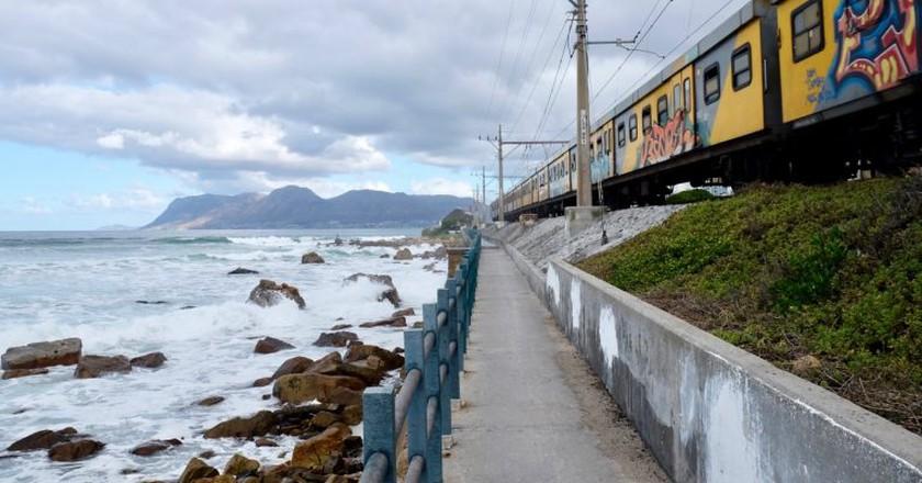 The Southern Line train to Simon's Town   © Andrew Thompson